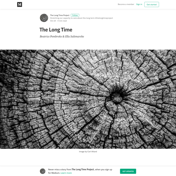 The Long Time - The Long Time Project - Medium