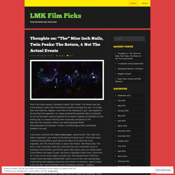 LMK Film Picks