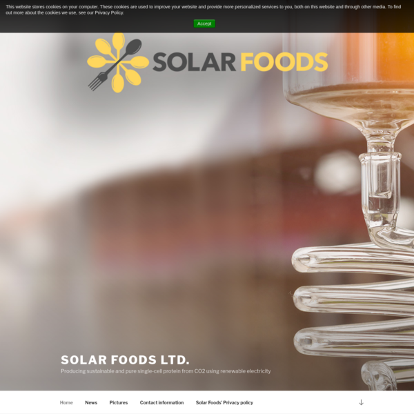 The Finnish company Solar Foods, producing proteins using only air and electricity as the main resources, has been selected for the Business Incubation Programme of the European Space Agency (ESA). The goal for Solar Foods is to develop a system for producing proteins for space flights to Mars.