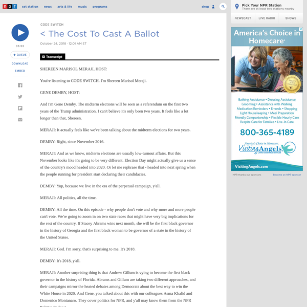 The Cost To Cast A Ballot