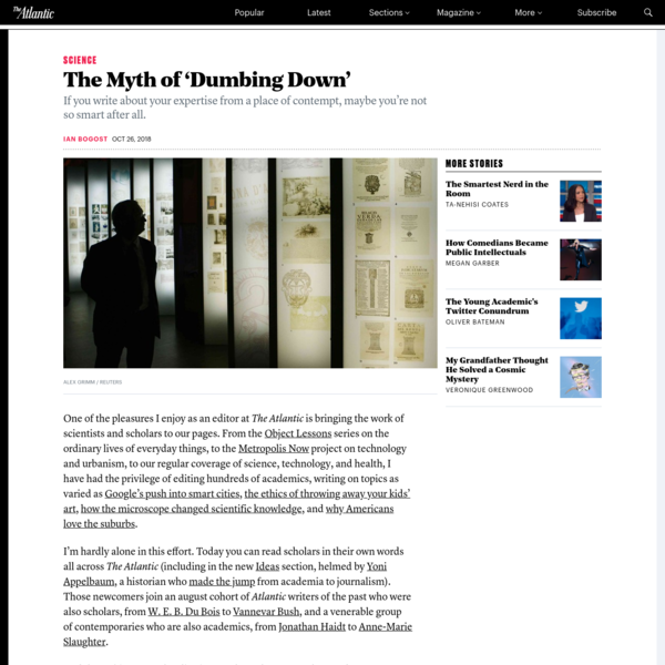 The Myth of 'Dumbing Down'