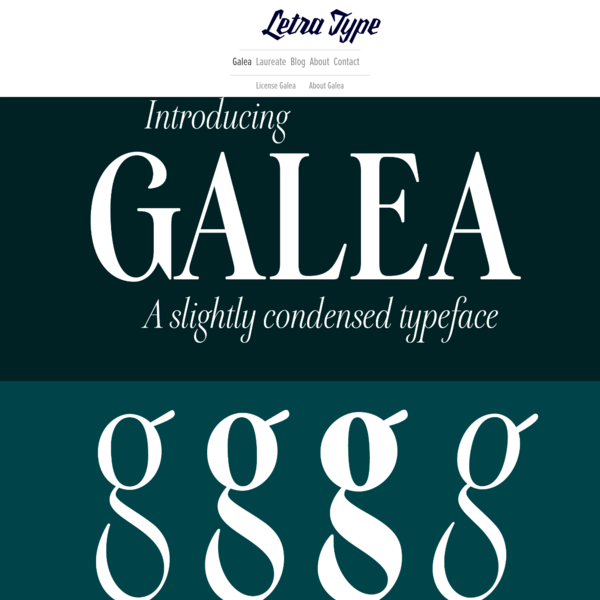 Introducing Galea