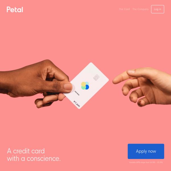 Petal - High Limit, Low Interest, No-Fee Credit Card