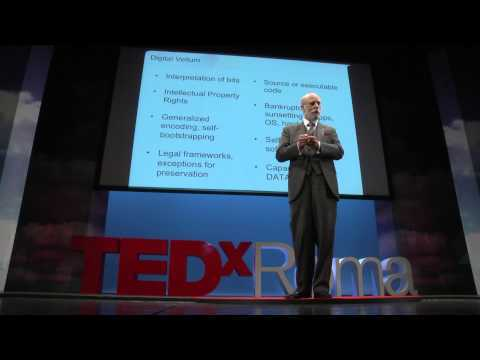 Bit rot (on digital vellum) | Vint Cerf | TEDxRoma