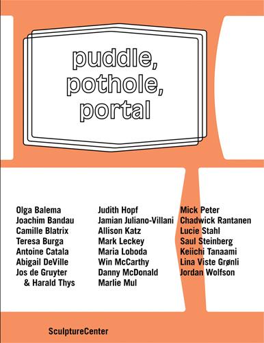 Publications, Puddle, Pothole, Portal, 2014