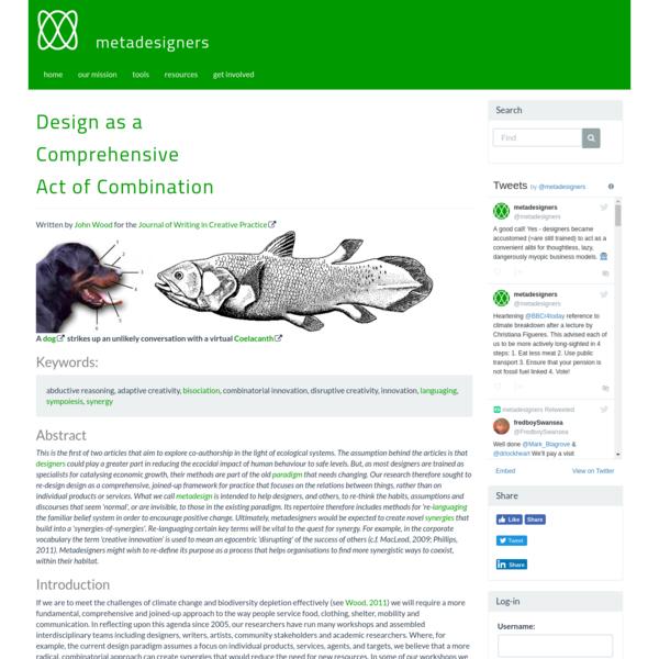 Metadesigners Network 2018  