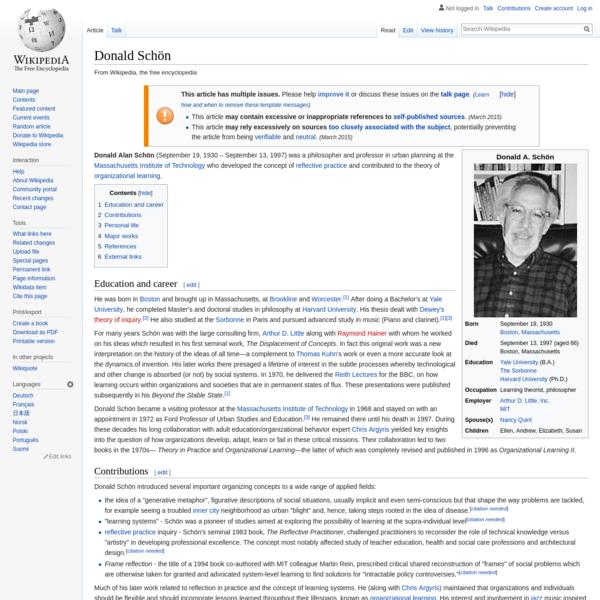 Donald Schön - Wikipedia