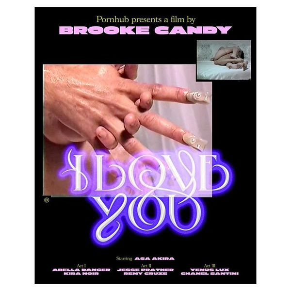 for Brooke Candy - 'I LOVE YOU' a film for @pornhub directed by @brookecandy out now. s/o to Brooke, Claire and Toby for the...
