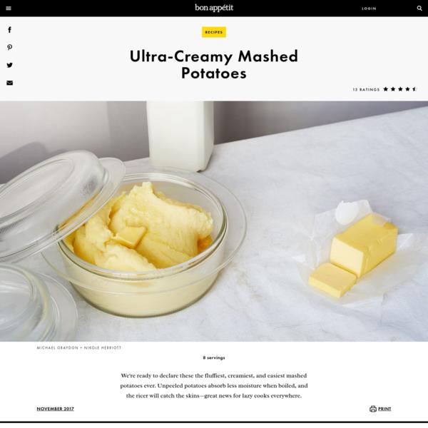 Ultra-Creamy Mashed Potatoes Recipe