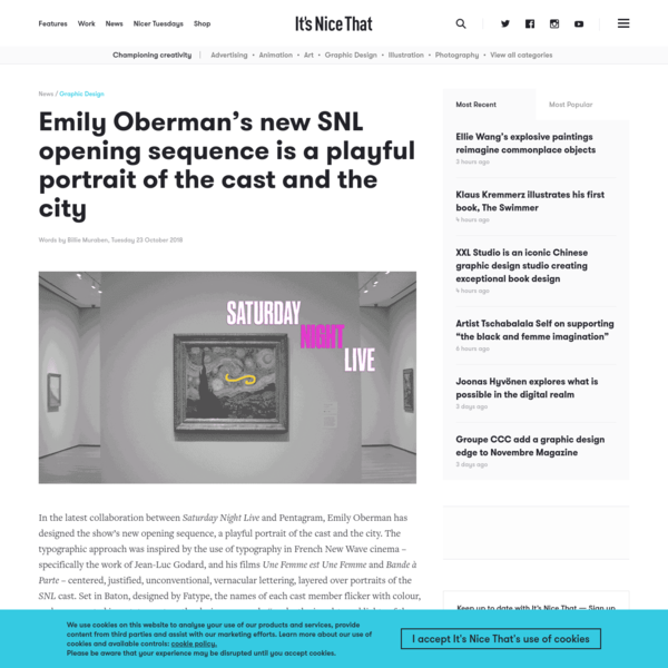 Emily Oberman's new SNL opening sequence is a playful portrait of the cast and the city
