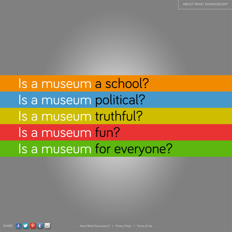 What #isamuseum? by Sam Durant, 2013 Getty Artists Program. Go to http://bit.ly/durantgetty or tag #isamuseum on Twitter to discuss.