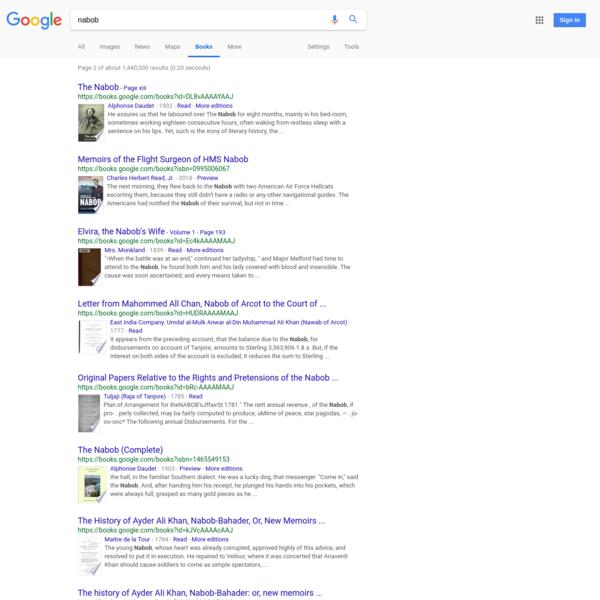 nabob - Google Search