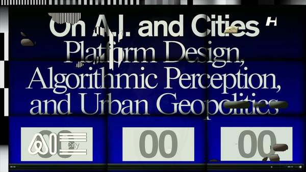 In this wide-ranging lecture, professor of Digital Design Benjamin Bratton outlines how cities may evolve in relation to computationally-rich algorithmic perception, sensation, cognition and physical automation. More info: http://bennopremselalezing2015.hetnieuweinstituut.nl/en Video & effects by Metahaven. Thanks to the Royal Academy of Science, EngageTV and Beam Systems