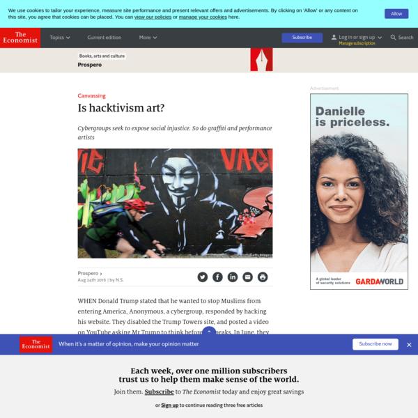 Is hacktivism art?