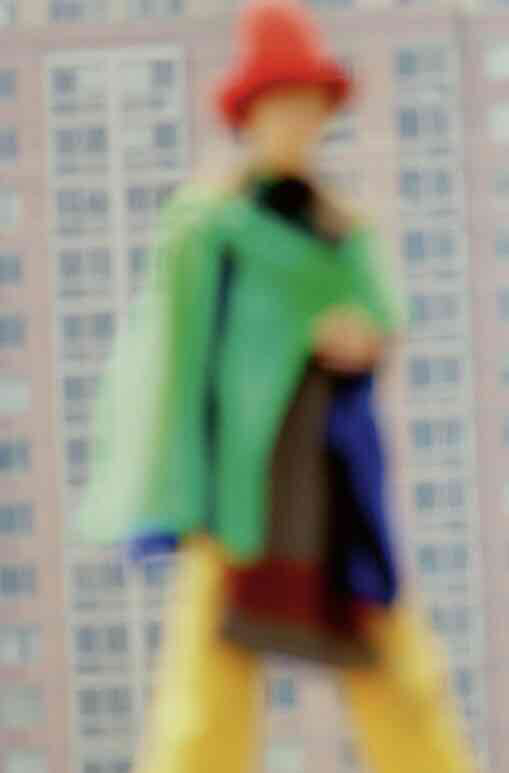 blurry out of focus (landscape)