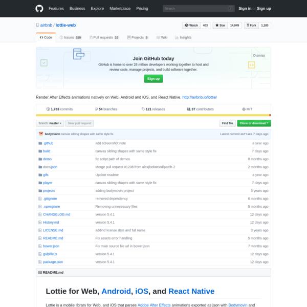 airbnb/lottie-web