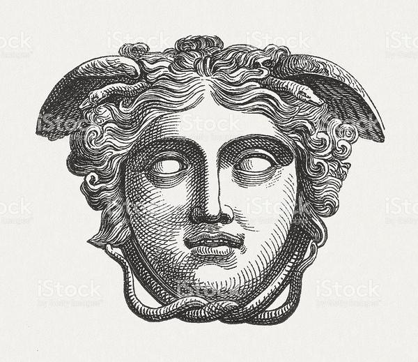9f42c62187c9adbb0f5dff17f93ddc44_head-of-medusa-figure-of-the-greek-mythology-published-1880-stock-medusa-greek-mythology-dr...
