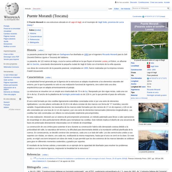 Puente Morandi (Toscana) - Wikipedia, la enciclopedia libre