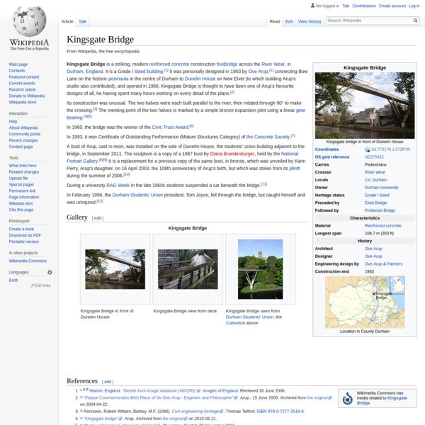 Kingsgate Bridge - Wikipedia
