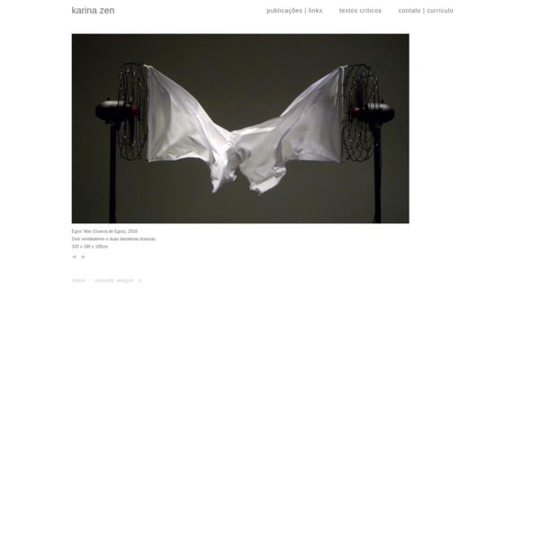 Site da artista Karina Zen.