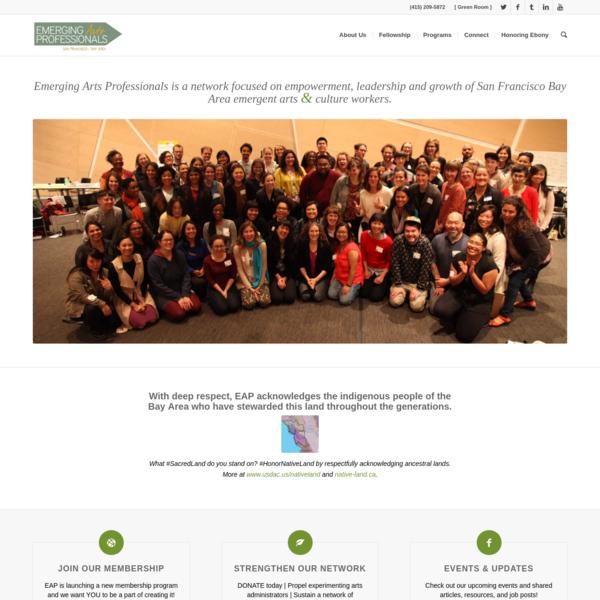 Homepage - Emerging Arts Professionals SF/BA