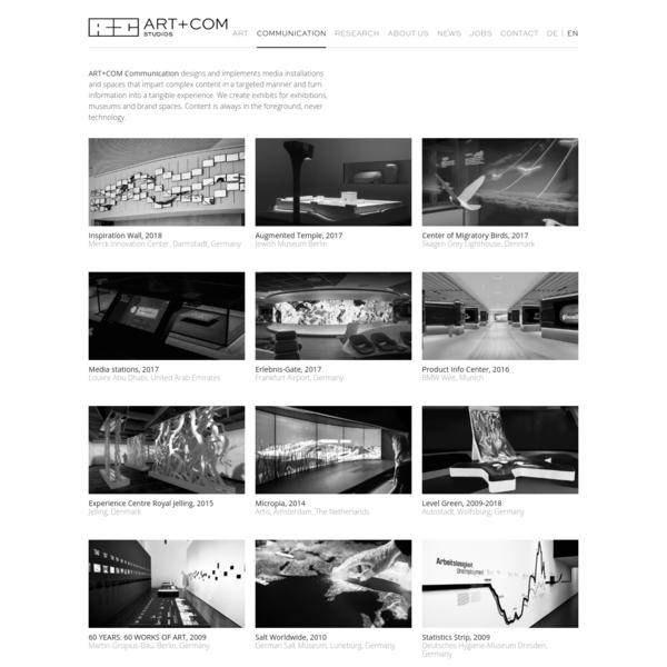Communication @en | ART+COM Studios