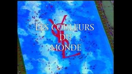 Le Making Of Du Défilé Yves Saint Laurent au Stade de France - 1998