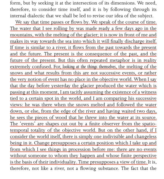 Maurice Merlau-Ponty, Phenomoology of Perception