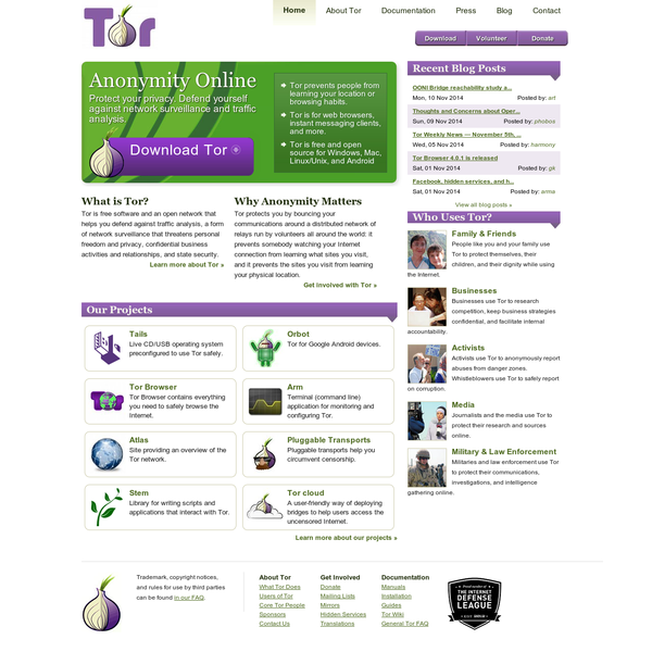 Tor Project: Anonymity Online