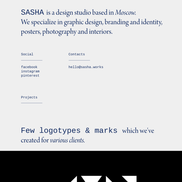 SASHA design studio