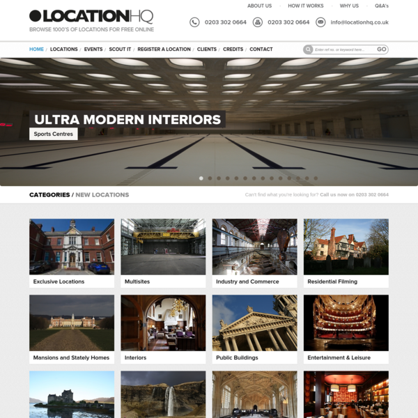 Location HQ | Film location Library | Location Finder | London