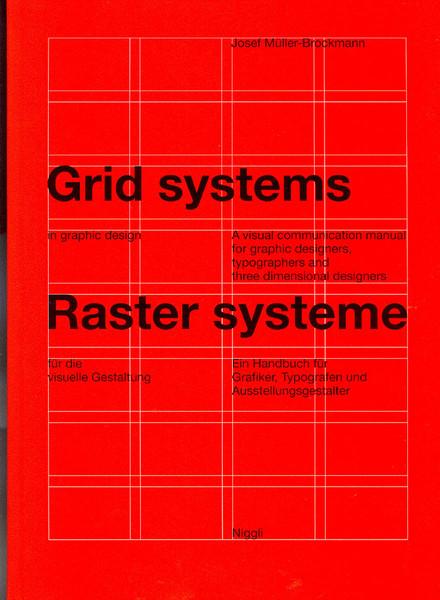 Grid systems in graphic design - Josef Muller-brockmann - 1996