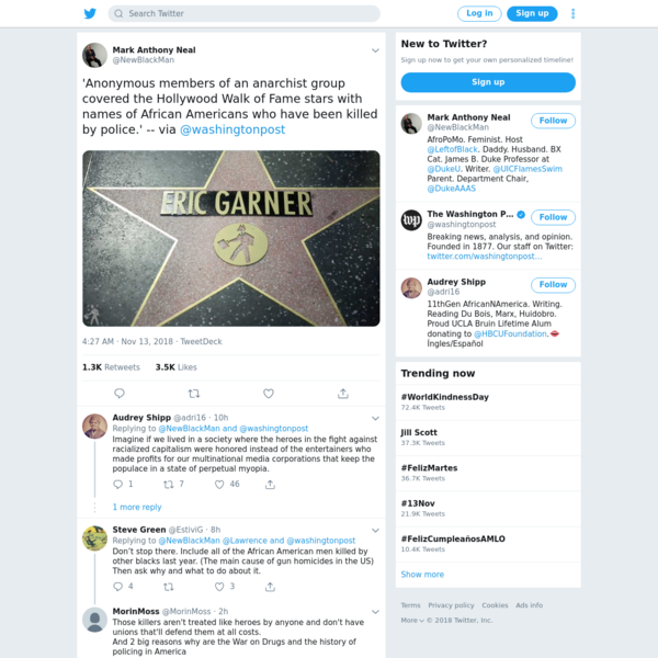 Mark Anthony Neal on Twitter