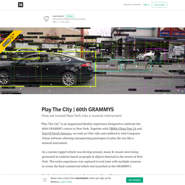 Play The City | 60th GRAMMYS - nøcomputer - Medium