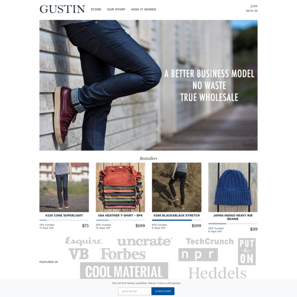 Gustin | Premium Menswear - Jeans, Shirts and Accessories