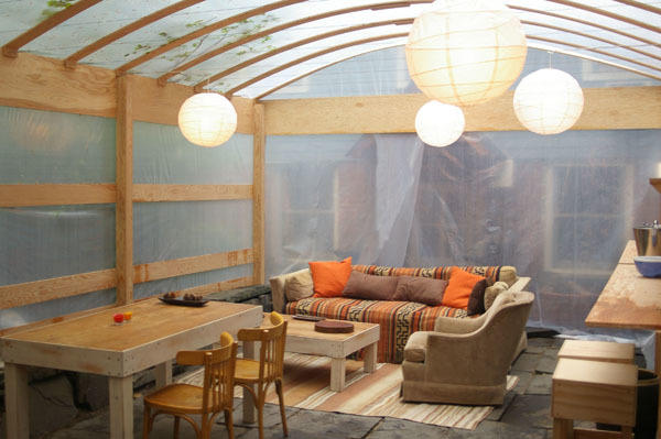 Plywood Tent