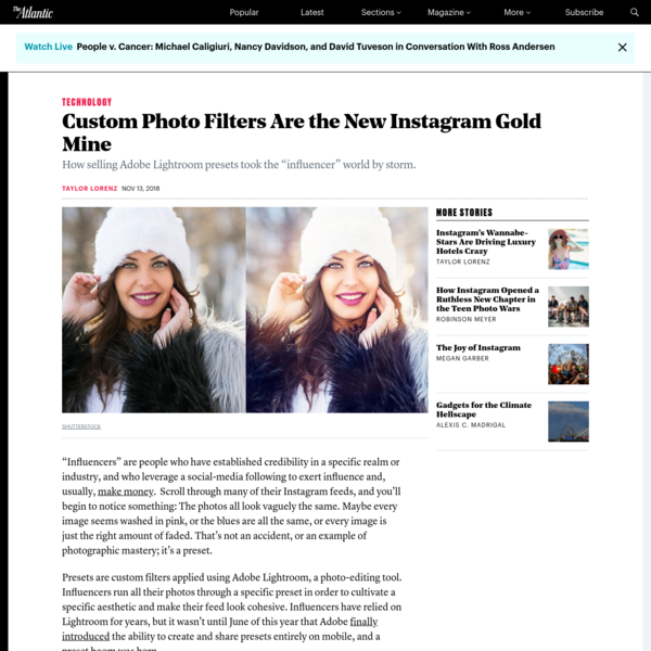 Custom Photo Filters Are the New Instagram Gold Mine