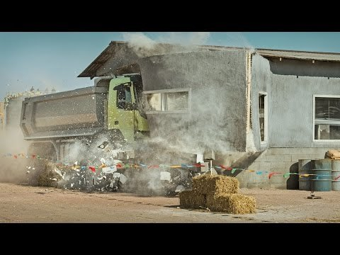 Volvo Trucks - Look Who's Driving feat. 4-year-old Sophie (Live Test)