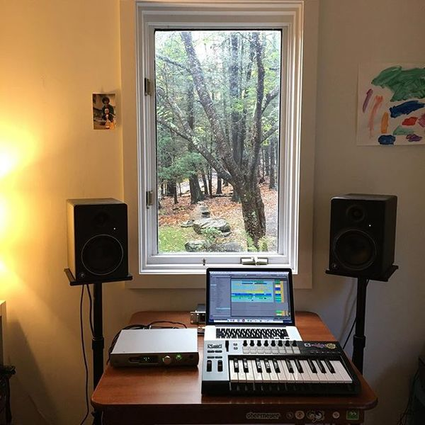 This is where I recorded and mixed New Energy and all the gear I used for it.