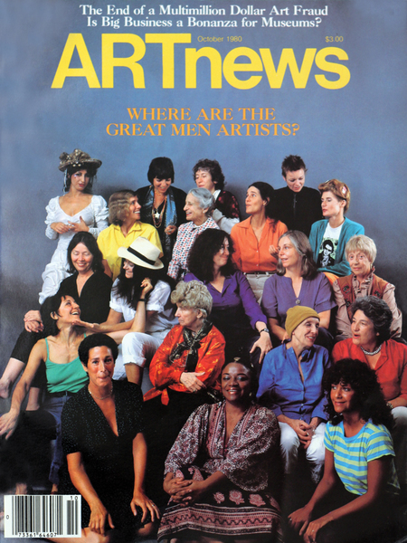 October 1980 issue of ARTnews