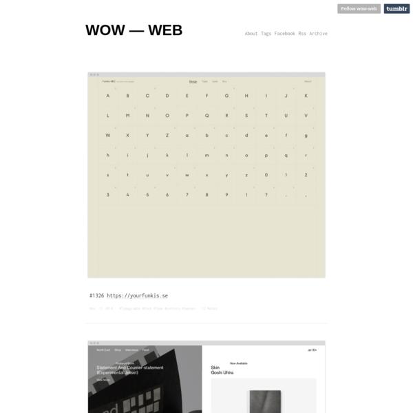 WOW - WEB