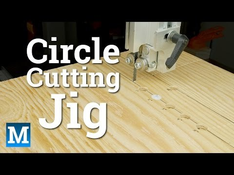 This is how you can make a simple and cheap circle cutting jig for your band saw.