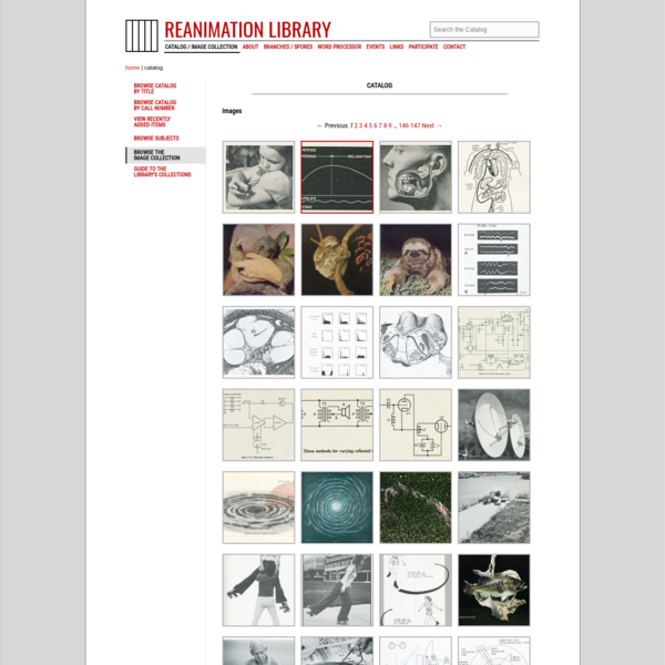 Reanimation Library - Image Archive