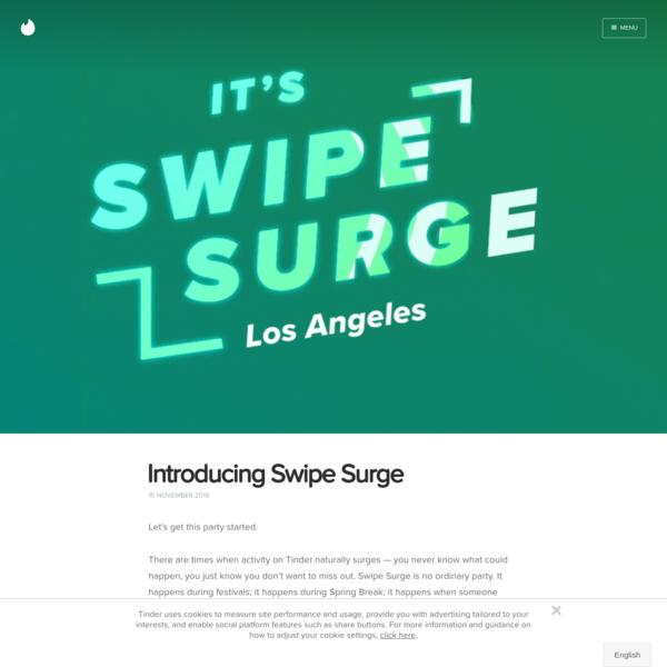 Introducing Swipe Surge