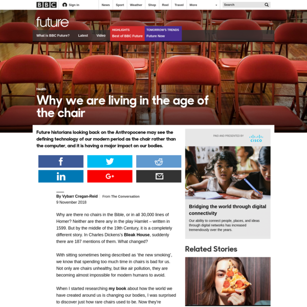 BBC - Future - Why we are living in the age of the chair