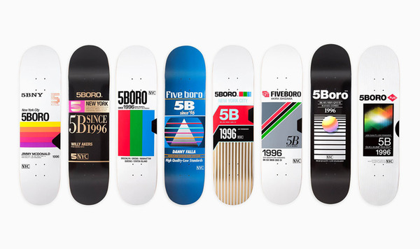 """""""VHS skateboard series by 5BORO is a blast from the past"""""""