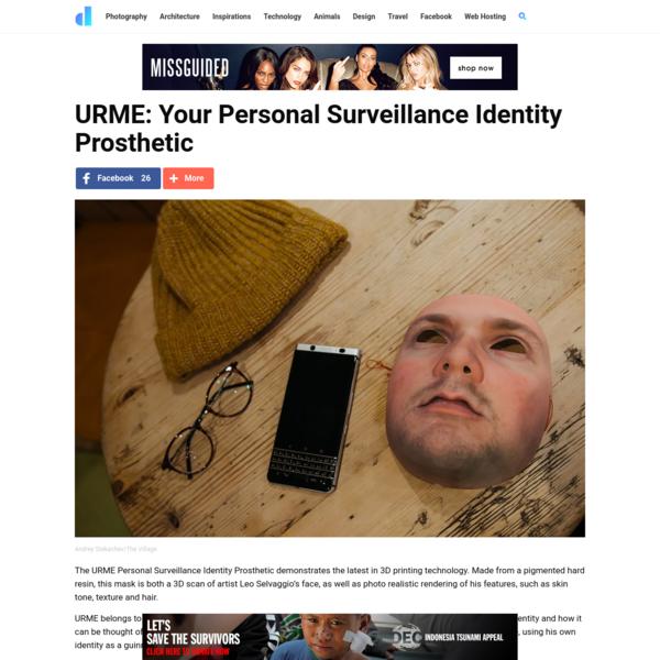 URME: Your Personal Surveillance Identity Prosthetic