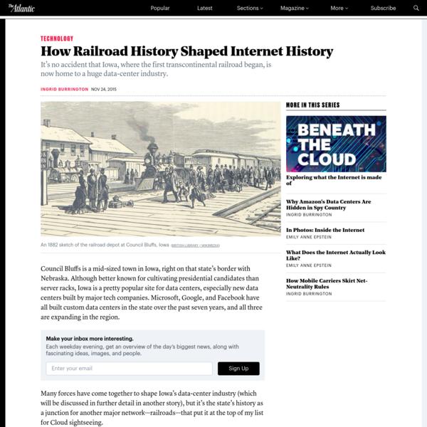 How Railroad History Shaped Internet History