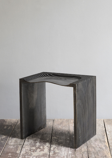 Jan Janssen - Sand Casted Iron Stool