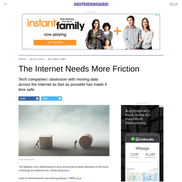 The Internet Needs More Friction - Motherboard